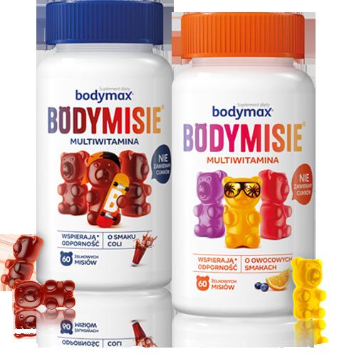 Bodymax Bodymisie packshots