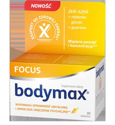 Bodymax tabletki Focus
